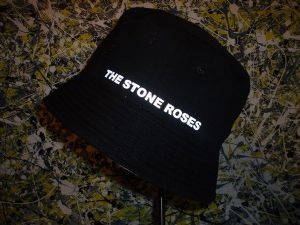 THE STONE ROSES `MADE OF STONE` LIGHT REFLECTIVE BUCKET HAT